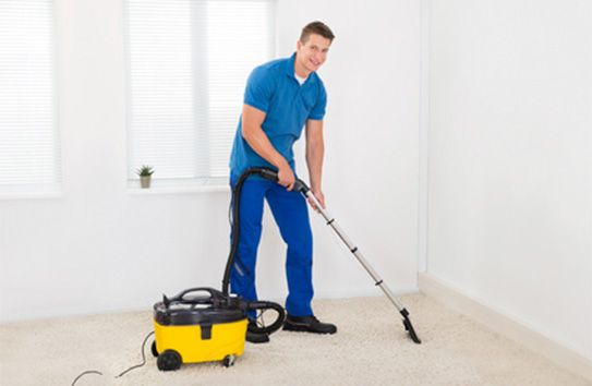 servicio de limpieza para una mudanza